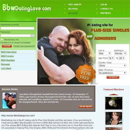 Mosty popular bbw dating site